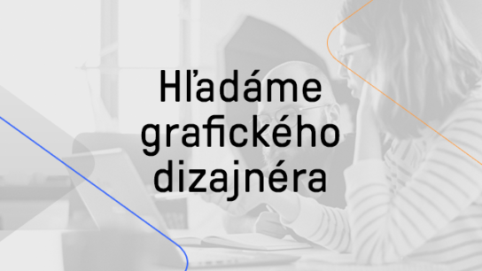 Hľadáme senior grafického dizajnéra
