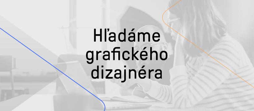 Hľadáme senior grafického dizajnéra/ku